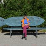 Park an Promenade, Lettland, Liepaja