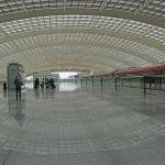 Peking Flughafenhalle Expressbahn