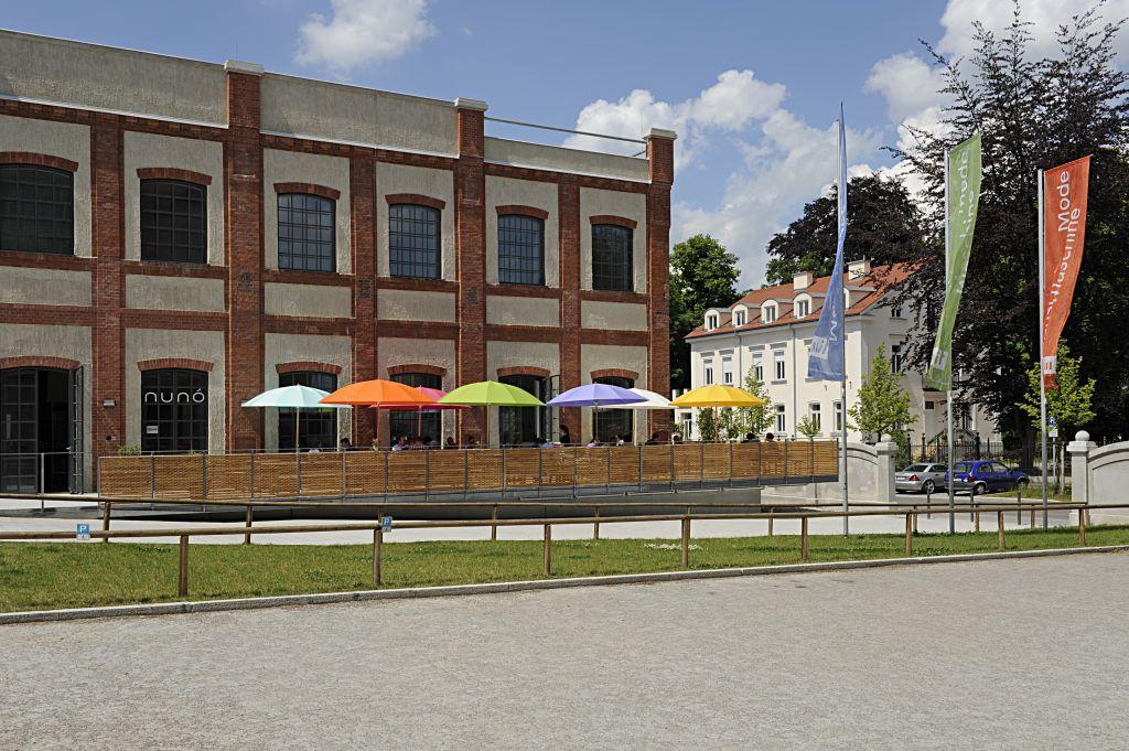Textilmuseum Augsburg auf dem ehemaligen Kammgarn Spinnerei Gelände