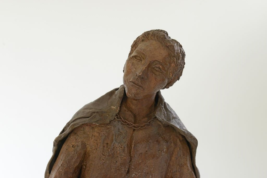 Bronzeskulptur aus der Luther-Gruppe von Wallenrodth - Ines Mösle