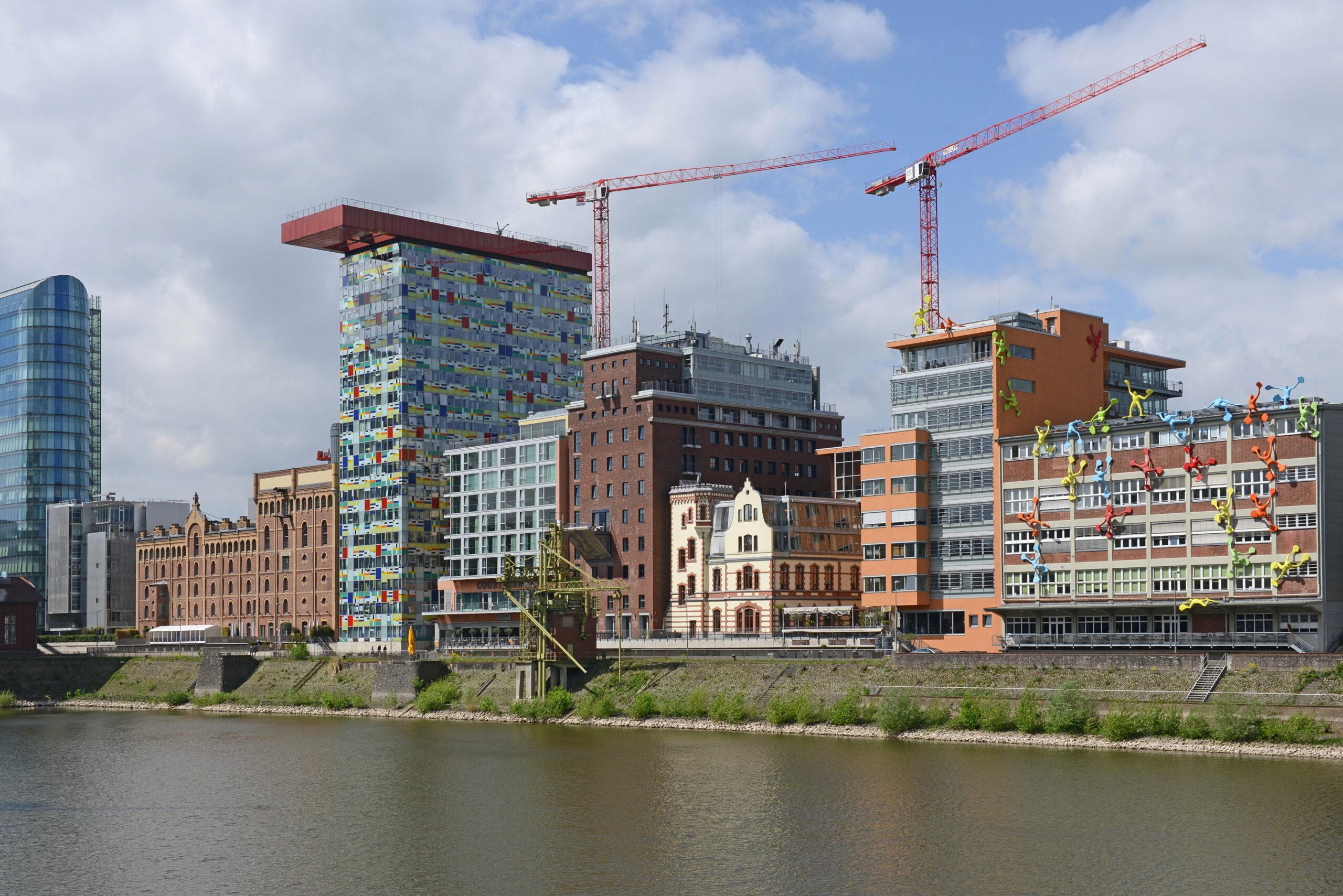 Häfen im Wandel, Düsseldorf, Medienhafen, April 2018