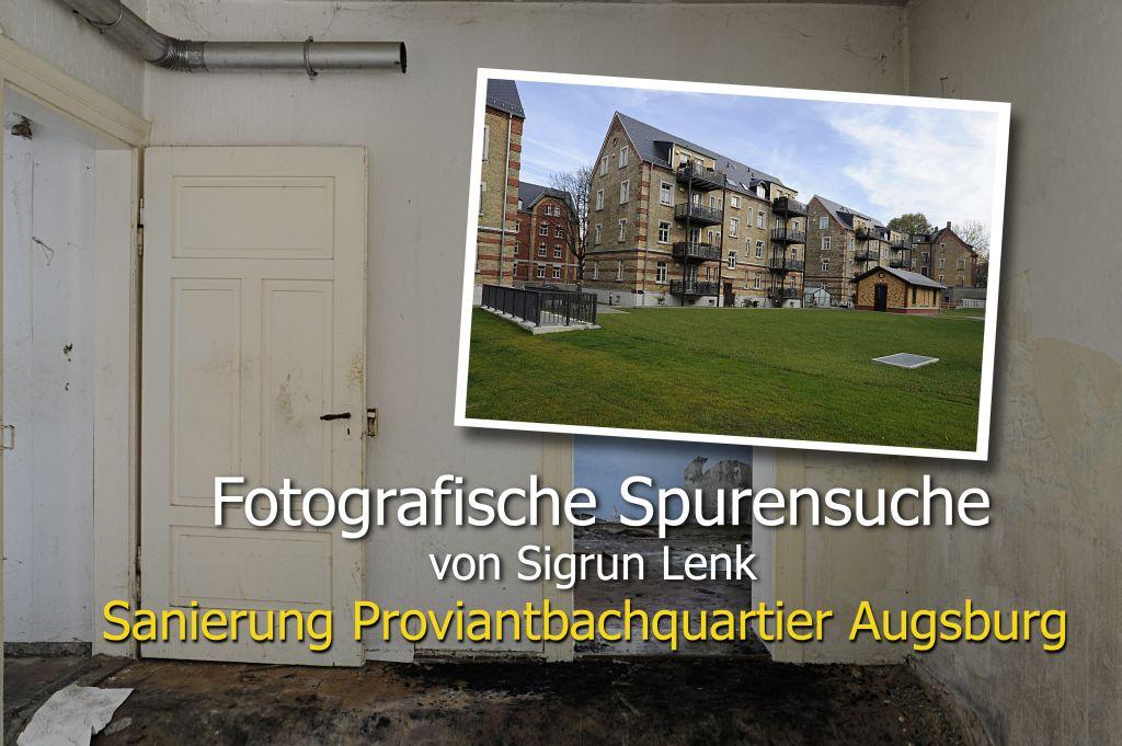 Augsburg, Proviantbachquartier, Sanierung 2008 bis 2012