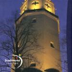 Stadtwerke Freising 100 Jahre Wasserturmbroschüre