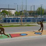 Verkehrsinseln in Untermeitingen