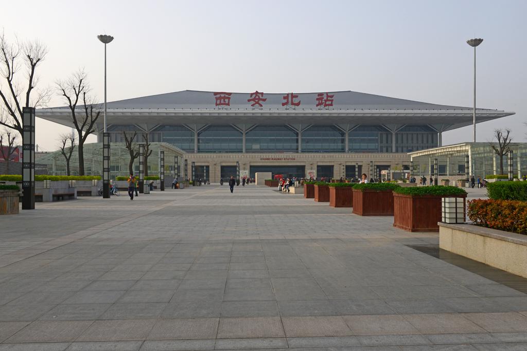 Xi'an Bahnhof China